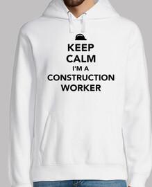 Bleib ruhig ich bin ein Bauarbeiter