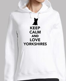 Bleib ruhig und liebe Yorkshires