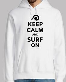 Bleib ruhig und surfe weiter