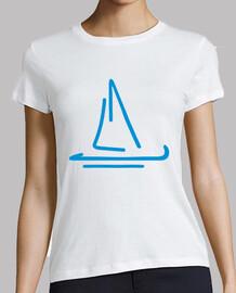 bleu bateau à voile