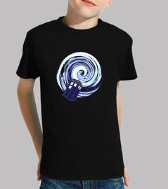 bleu boîte vortex