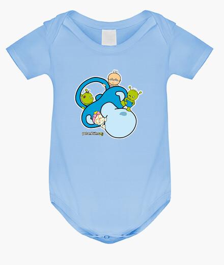 Vêtements enfant bleu sucette