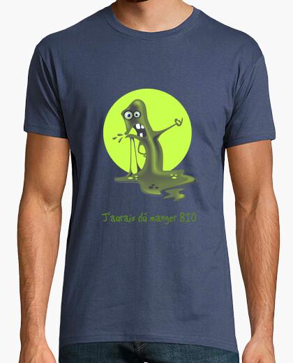 Blob that does not eat organic t-shirt