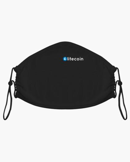 Mascarilla blockchain de monedas...