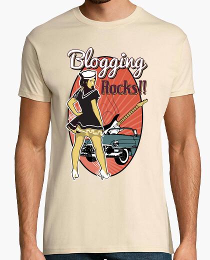Camiseta Blogging Rocks!!