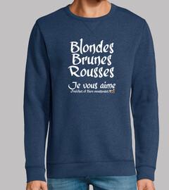 Blonde Brune Rousse