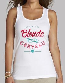 blonde with brains