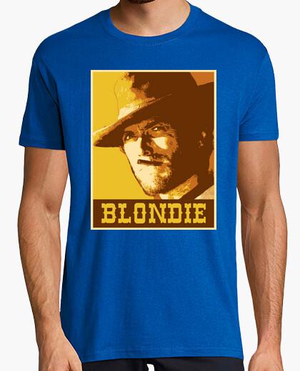 Tee-shirt blondie