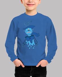 blue alien halloween character