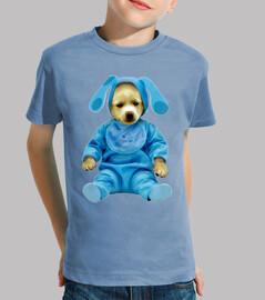 Blue bunny dog