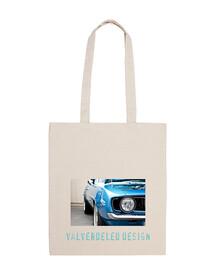 Blue Car. Bolso Chica
