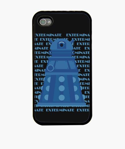 Funda iPhone Blue Dalek IPH4