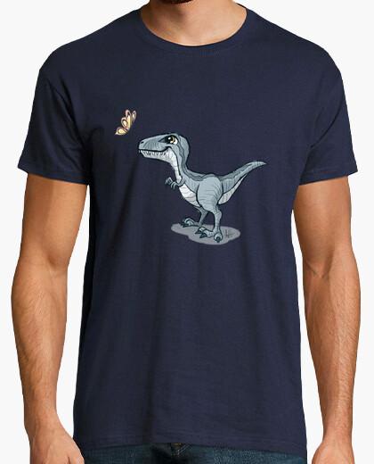 Blue dinosaur t-shirt