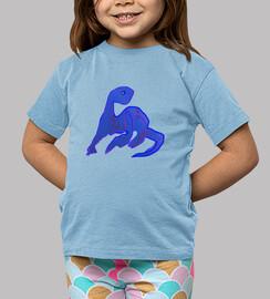Blue Diplodocus Kid