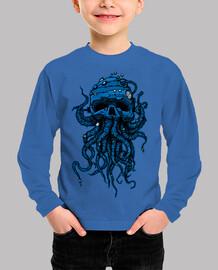blue octopus head