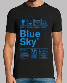 blue sky - breaking bad (blue letters)