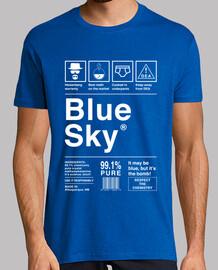 blue sky - breaking bad (white letters)