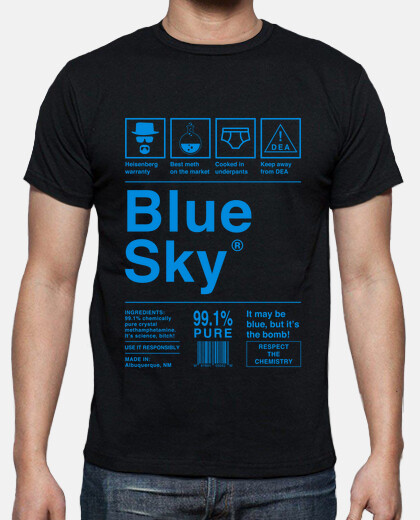 Blue Sky - Breaking Bad (letras azules)