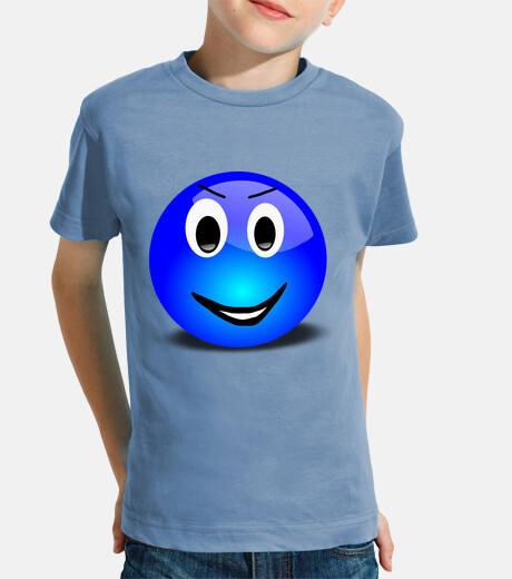 Blue smiley...