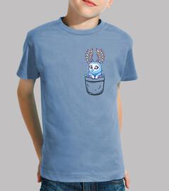 blupee de poche souffle de l'esprit sauvage - chemise pour enfants