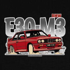 BMW E30 M3 T-shirts