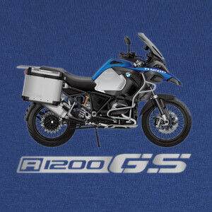 Camisetas BMW R 1200 GS Adventure Blue