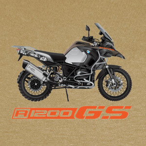 Camisetas BMW R 1200 GS Adventure Green