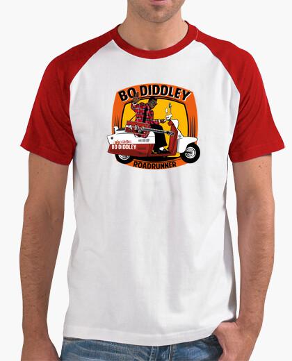 Camiseta Bo Diddley roadrunner