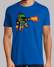 Boba Fett 8 Bits (Camiseta)