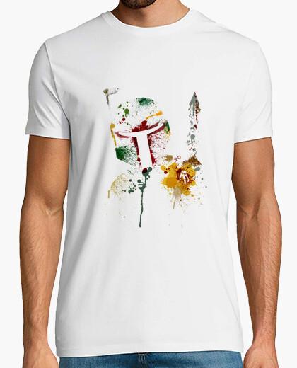 Camiseta Boba Fett oleo