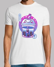 boba wave tea shirt hombre