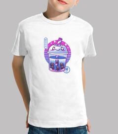 Boba Wave Tea Shirt Youth