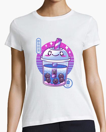 T-Shirt boba wave tee shirt frauen