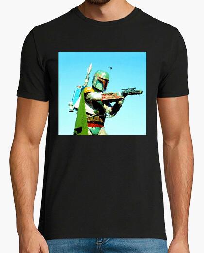 Camiseta Bobb Fett oil Artwor