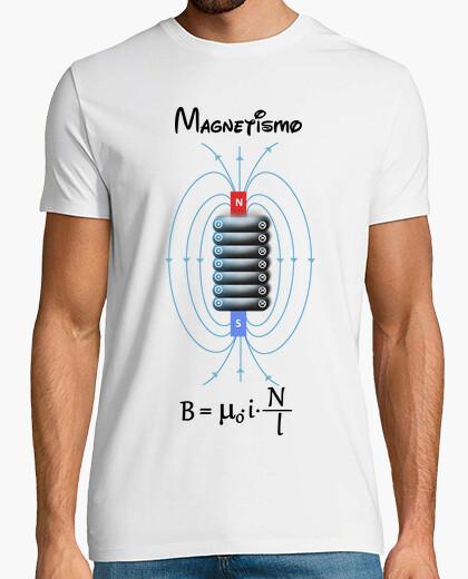 Camiseta Bobina magnética