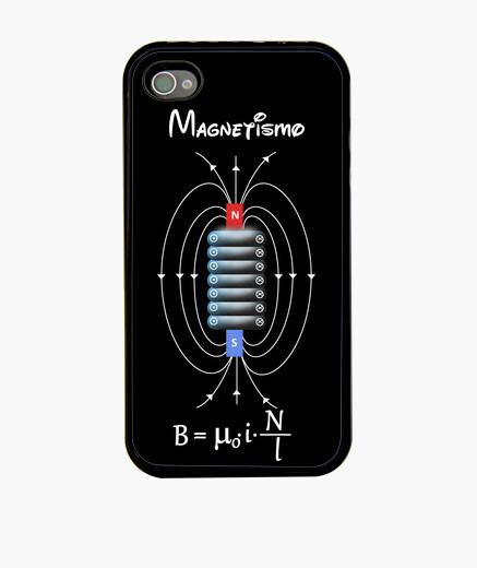 Funda iPhone Bobina magnética negro