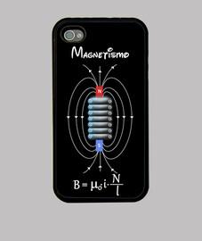 Bobina magnética negro
