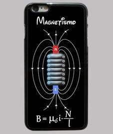 bobina magnetica nera