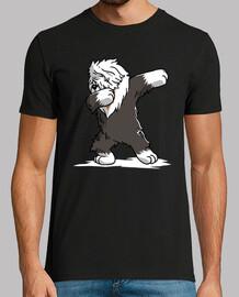 bobtail dog dab!