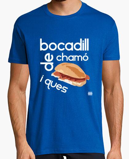 Camiseta Bocadill de chamó i ques (H)