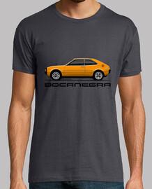 Bocanegra naranja para camiseta