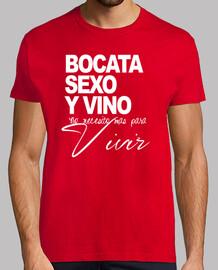 BOCATA, SEXO Y VINO