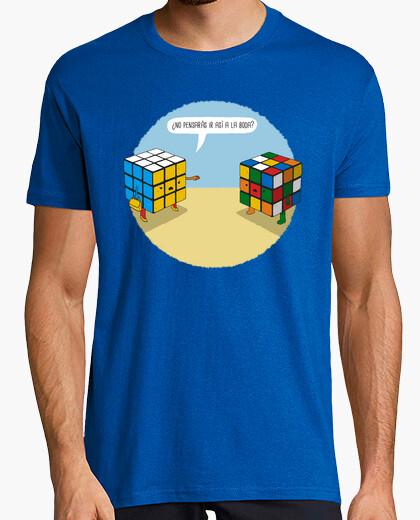 Camiseta Boda de Rubik