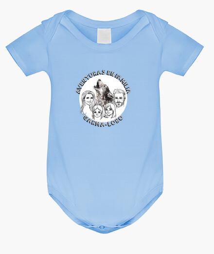 Ropa infantil Body Aventura en Familia Garma Lobo