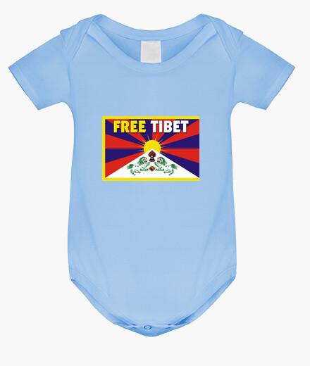 Ropa infantil BODY AZUL - FREE TIBET