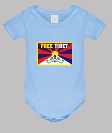 BODY AZUL - FREE TIBET