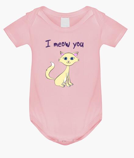 Ropa infantil Body Baby Cat