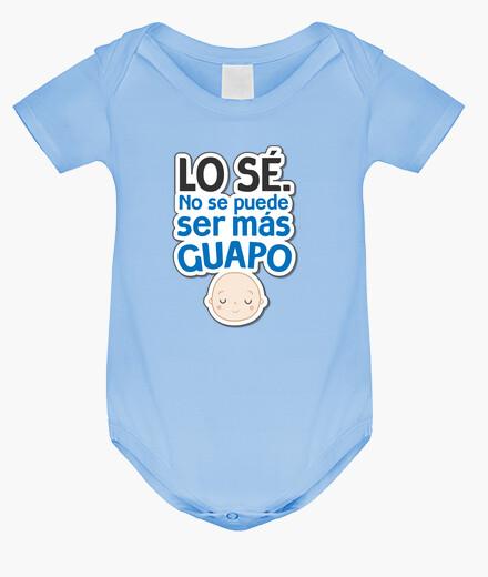 Ropa infantil Body Bebé - Lo Sé. No Se Puede Ser Más Guapo