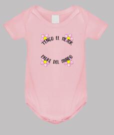 Body bebé - Tengo el mejor padre del mundo Original