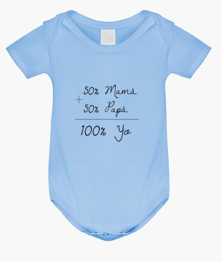 Ropa infantil Body bebé 100 yo, azul cielo